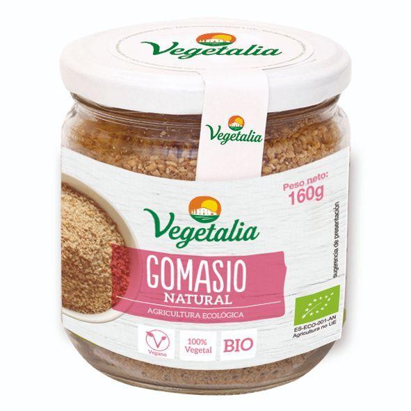 GOMASIO Bote vidrio BIO CCPAE 160 g VEGETALIA en Biovegalia