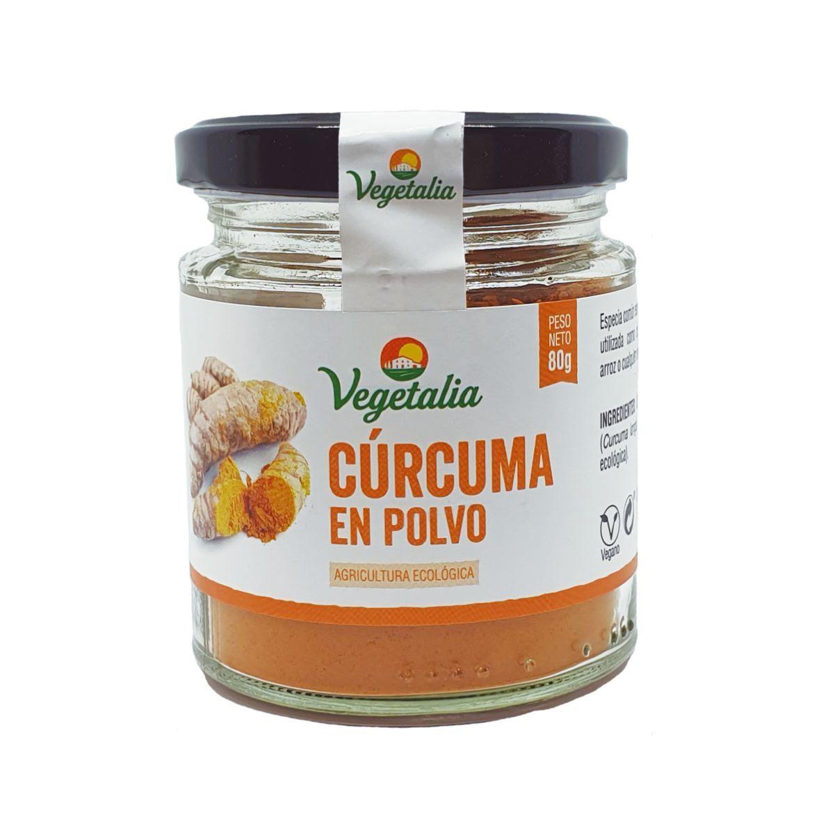 CURCUMA  EN POLVO BIO  80 g VEGETALIA en Biovegalia