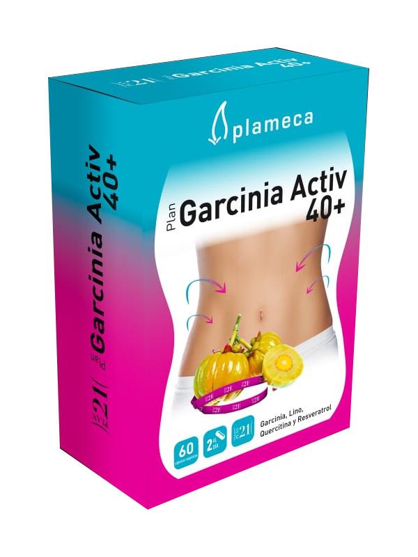 GARCINIA ACTIV  40 PLUS 60 CAPS PLAMECA en Biovegalia