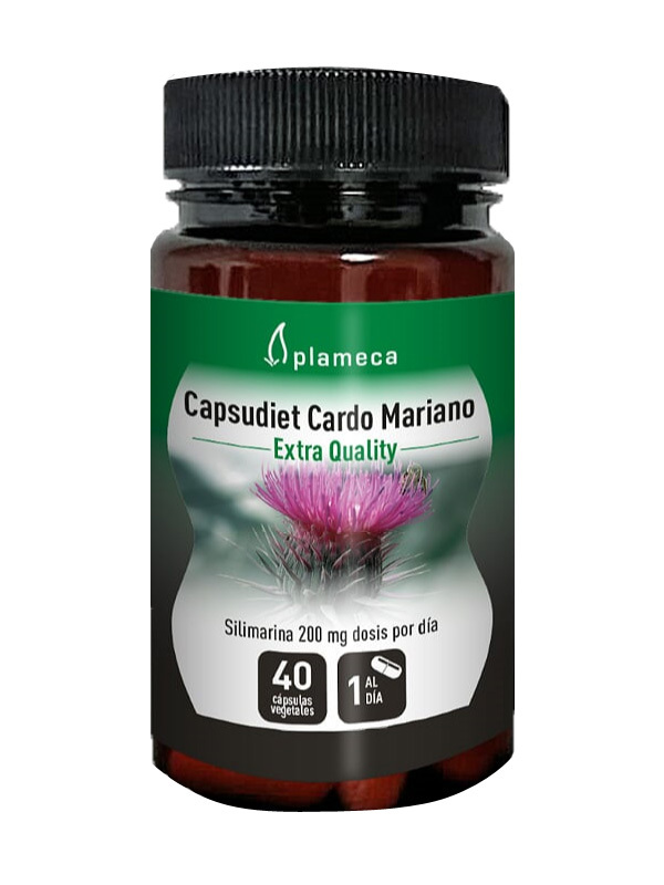 CARDO MARIANO 40 CAPSULAS PLAMECA en Biovegalia