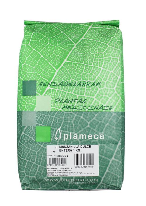 MANZANILLA DULCE ENTERA 1 KG PLAMECA en Biovegalia