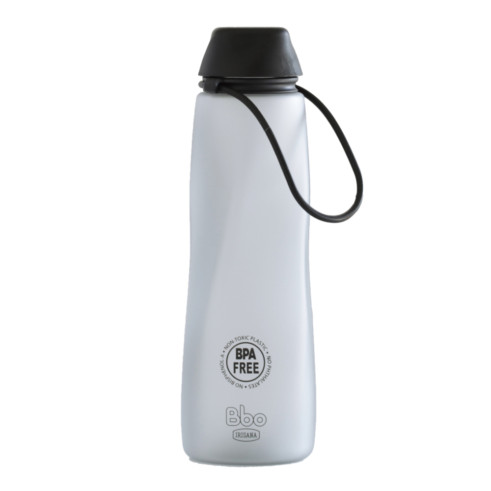 BOTELLA BBO TRITAN NEGRO 700 ml. IRISANA