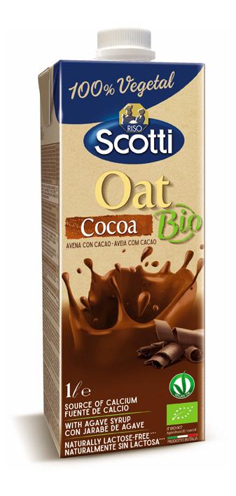 BEBIDA BIO AVENA CHOCOLATE 1L RISO SCOTTI en Biovegalia
