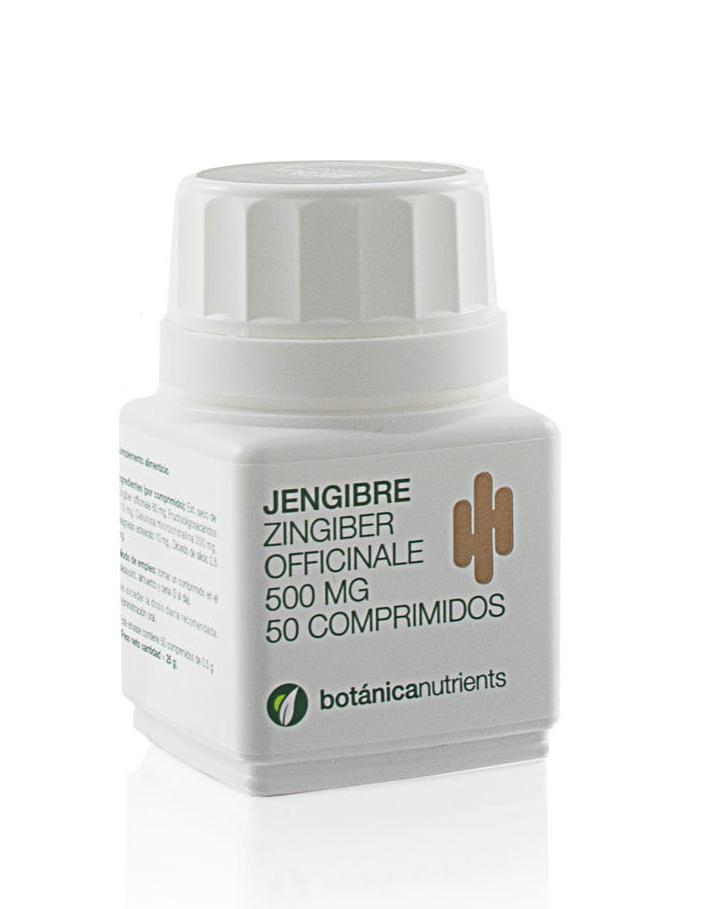 JENGIBRE 50COMP 500MG