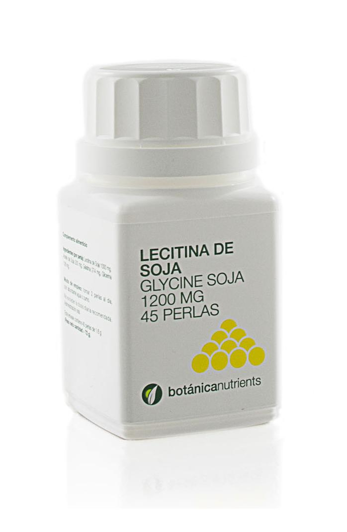 LECITINA SOJA 45PERL 1200MG