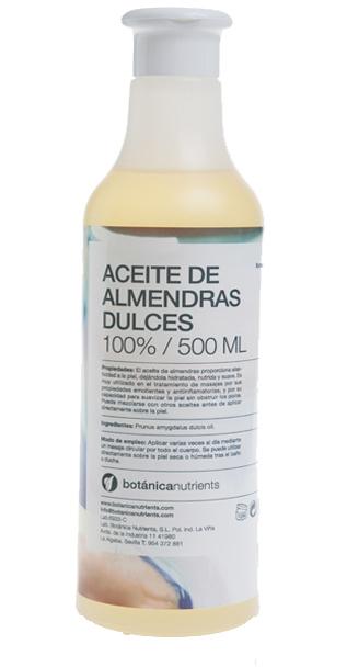 ACEITE DE ALMENDRAS DULCES 500ML DOSIF. BOTÁNICA NUTRIENTS en Biovegalia