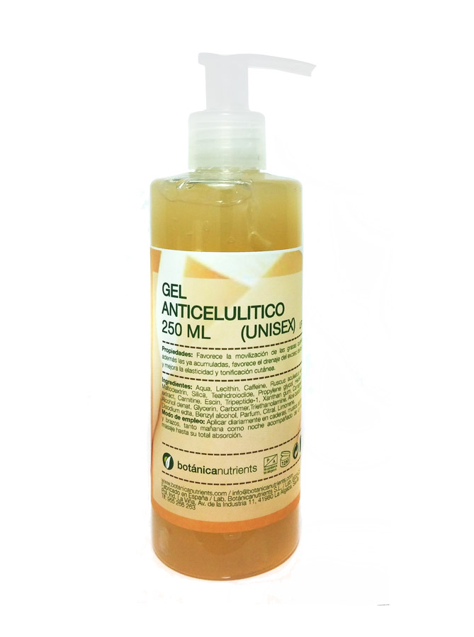GEL ANTICELULITICO LIPOSOMADO 200ML