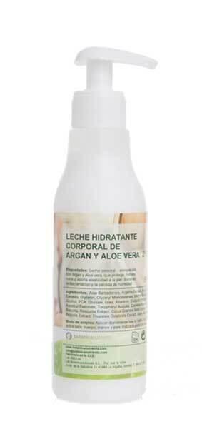 LECHE HIDRAT. ARGAN Y ALOE 250ML BOTÁNICA NUTRIENTS en Biovegalia