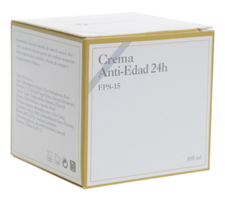 CREMA ANTI-EDAD 24H 100 ML - FPS 15
