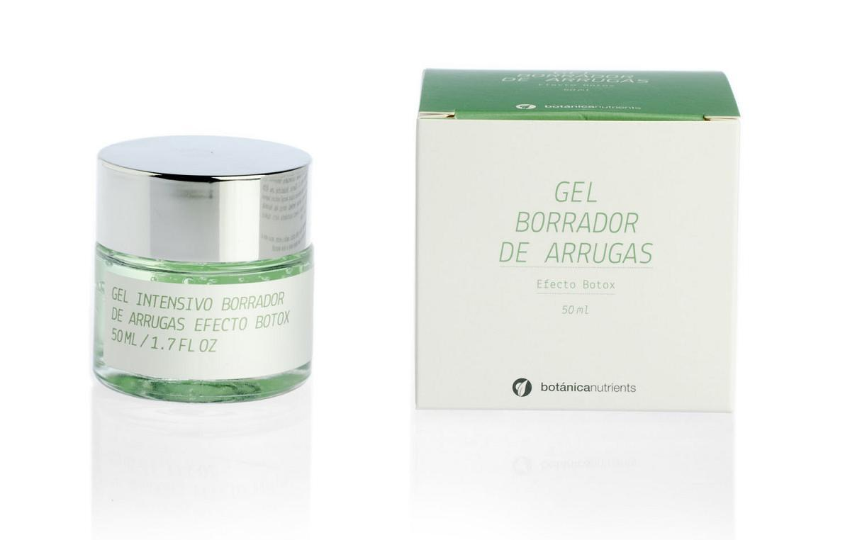 GEL INTENSIVO BORRADOR ARRUGAS 50ML BOTÁNICA NUTRIENTS en Biovegalia
