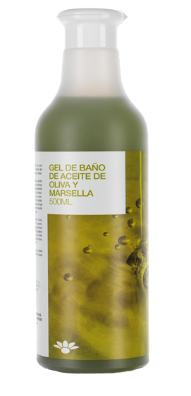 GEL BAÑO OLIVA Y MARSELLA 500ML