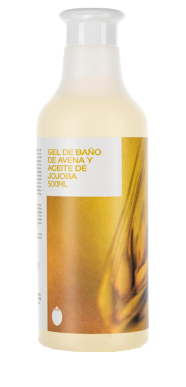 GEL BAÑO AVENA Y JOJOBA 500ML