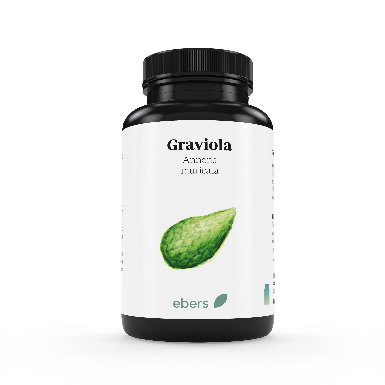 GRAVIOLA 60CAPS 1000MG EBERS en Biovegalia