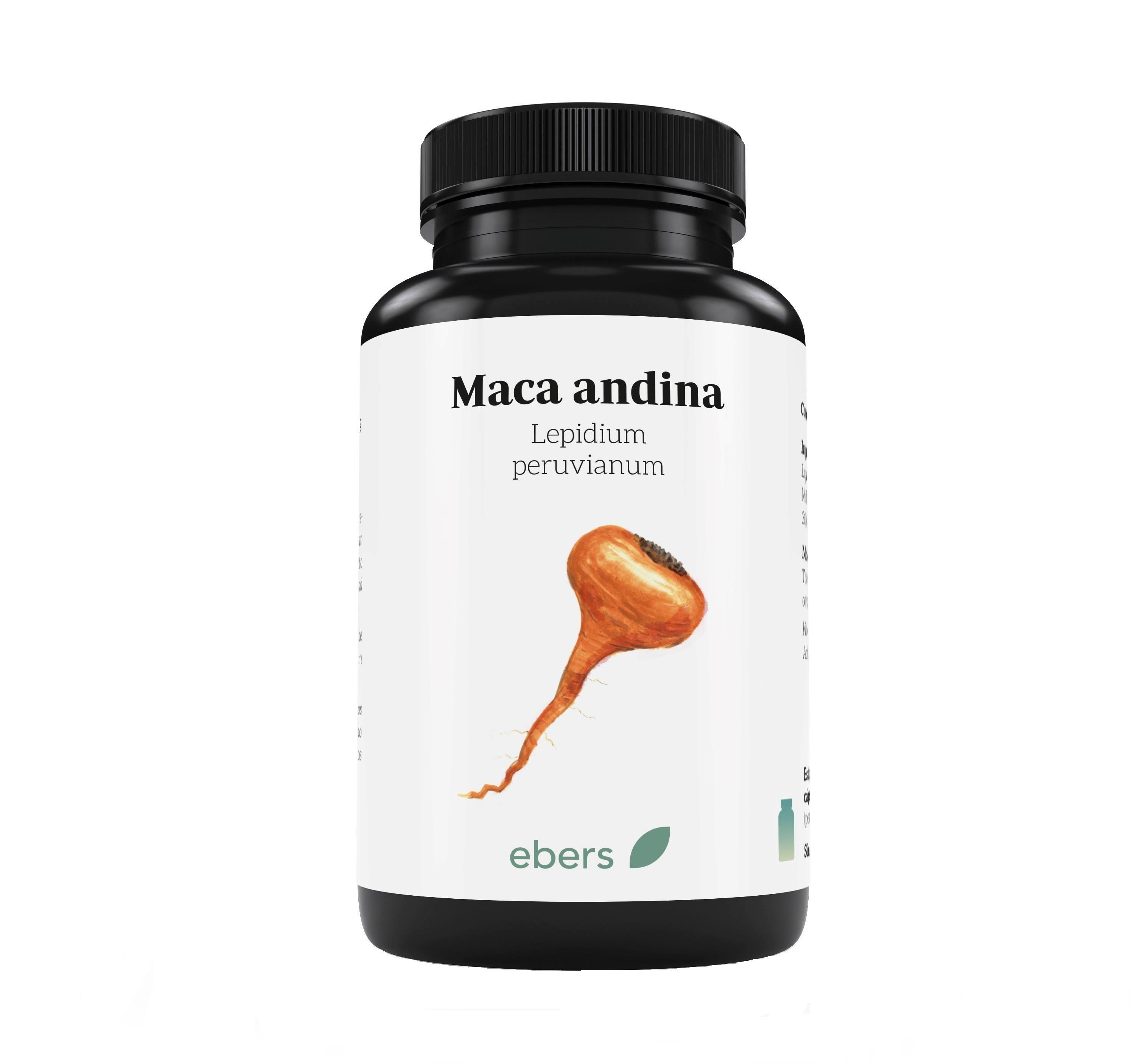 MACA ANDINA 60CAPS 500MG EBERS en Biovegalia
