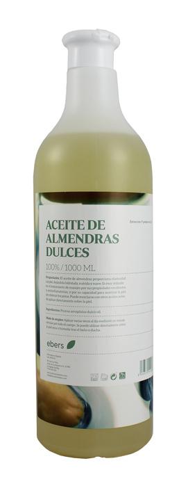 ACEITE DE ALMENDRAS DULCES 1 L EBERS en Biovegalia