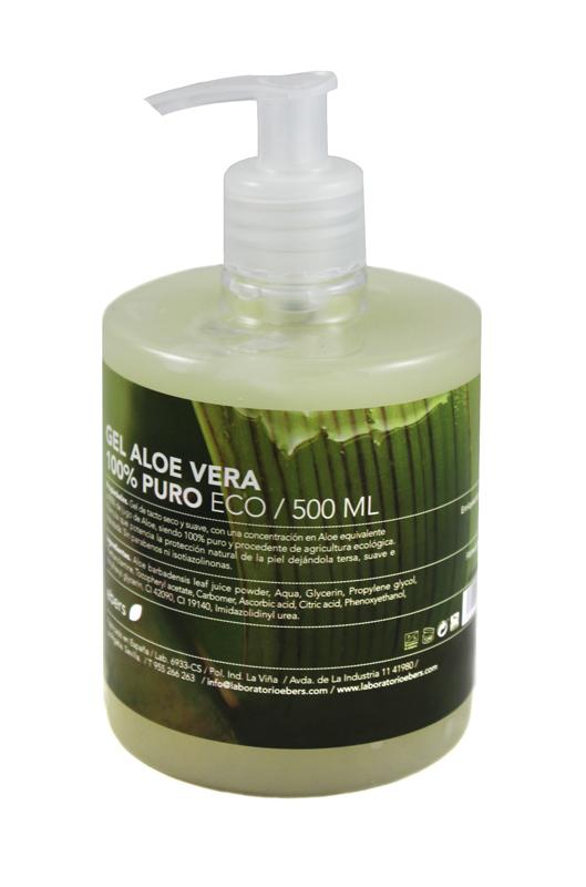 GEL ALOE VERA ECO 500ML DOSIF EBERS en Biovegalia