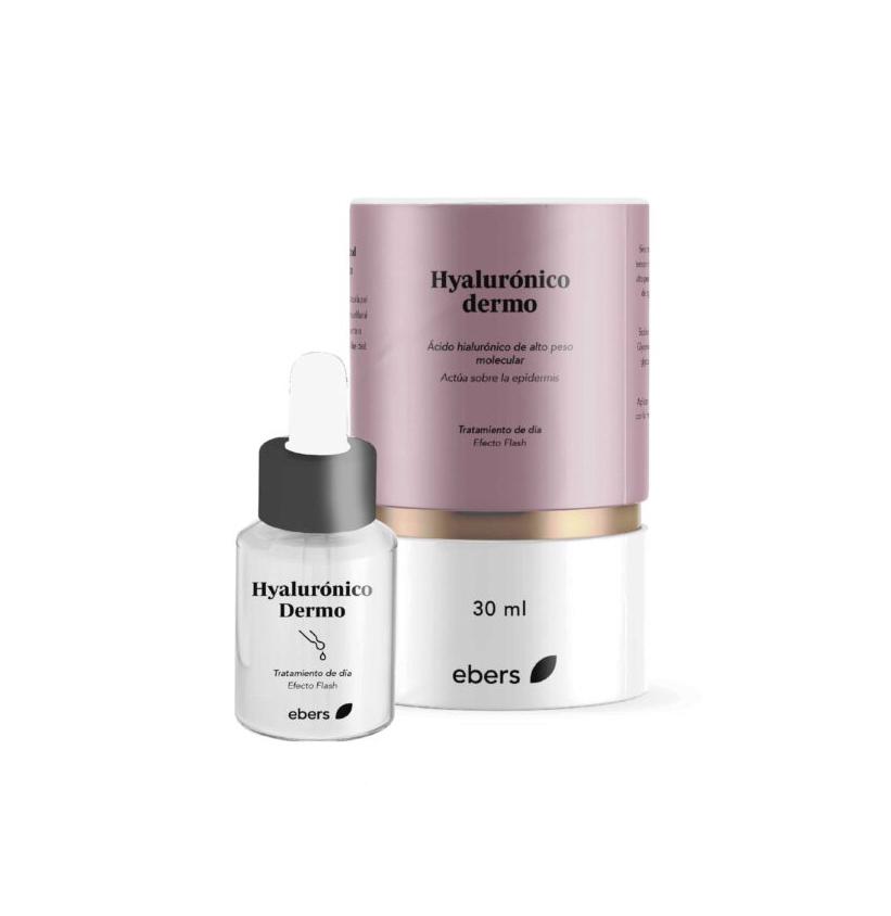 HYALURONICO DERMO (Ácido hialurónico alto peso molecular) 30ML EBERS en Biovegalia