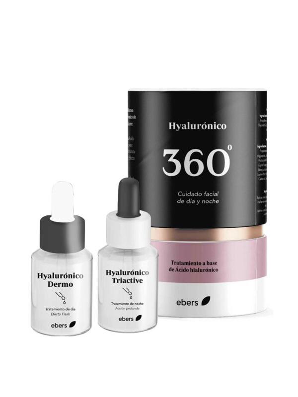 HYALURONICO TRATAMIENTO DIA Y NOCHE 360  2 X 30ML EBERS en Biovegalia