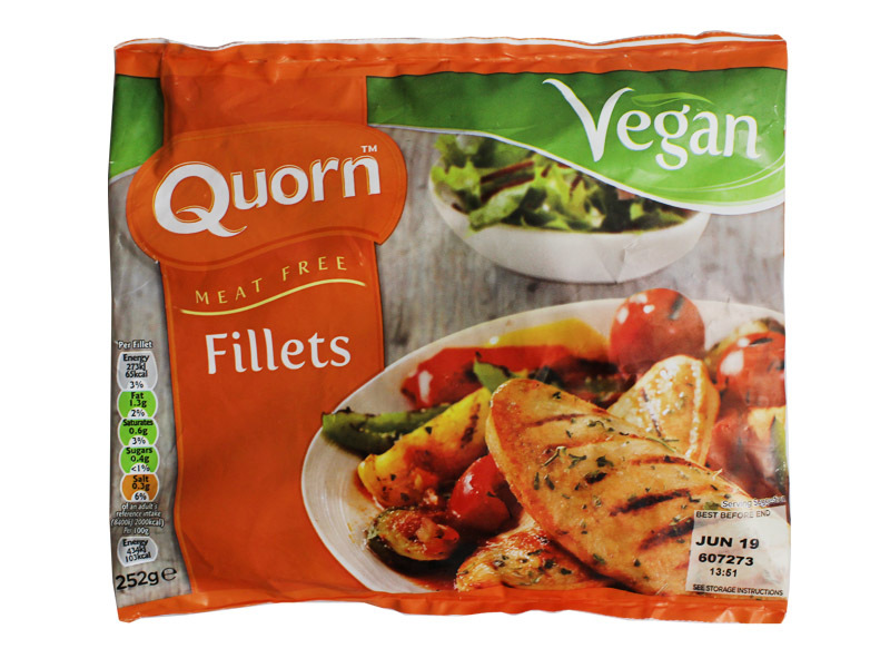 QUORN FILETE VEGETAL 252 GR en Biovegalia