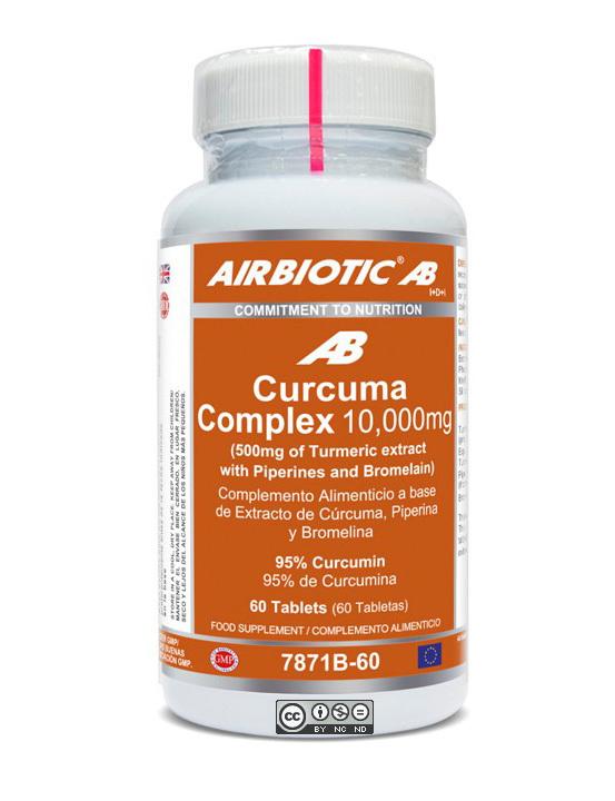 CURCUMA AB COMPLEX 10000 MG 60 CAPS AIRBIOTIC AB en Biovegalia