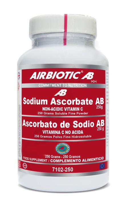 S ASCORBATO AB 250 GR AIRBIOTIC AB en Biovegalia