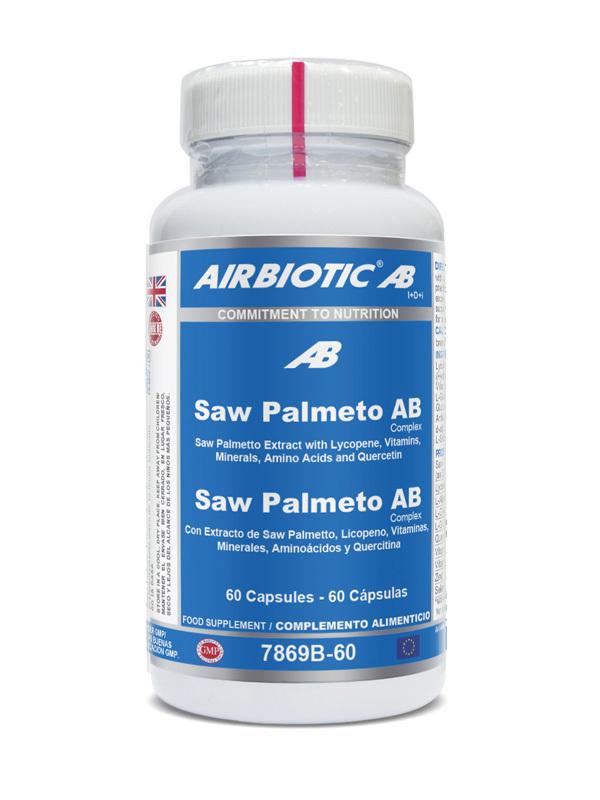SAW PALMETO AB COMPLEX 60 CAPS AIRBIOTIC AB en Biovegalia
