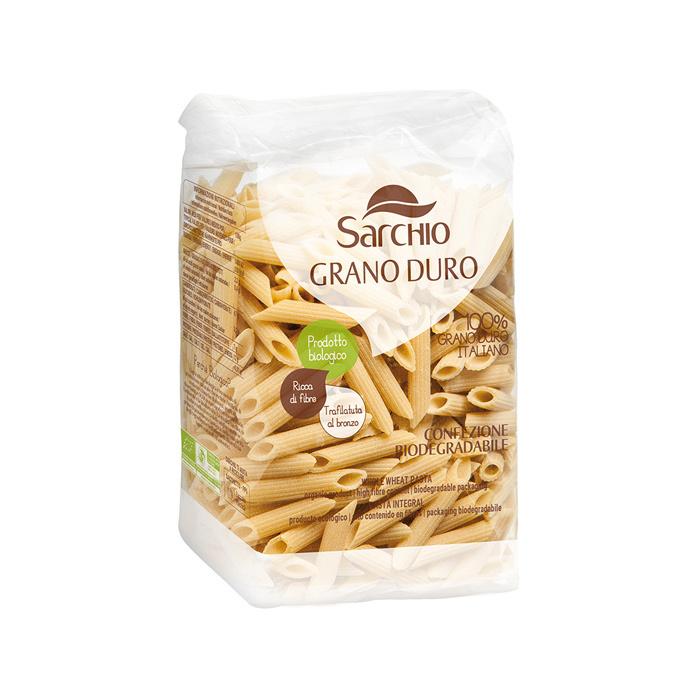 MACARRONES SEMOLA DE TRIGO DURO BIO 500 GR SARCHIO en Biovegalia