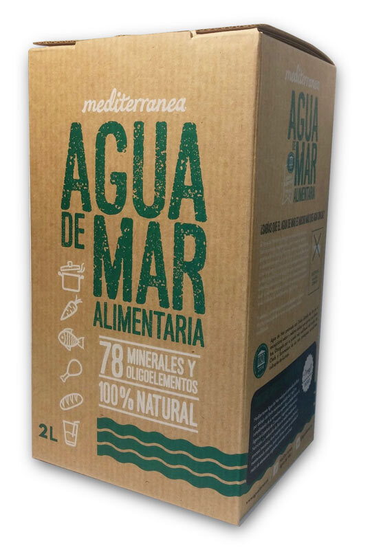 MEDITERRANEA AGUA DE MAR ALIMENTARIA 2L