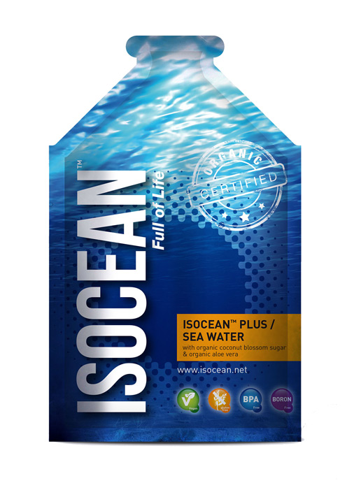 ISOCEAN PLUS  AGUA DE MAR ALIMENTARIA 100ML