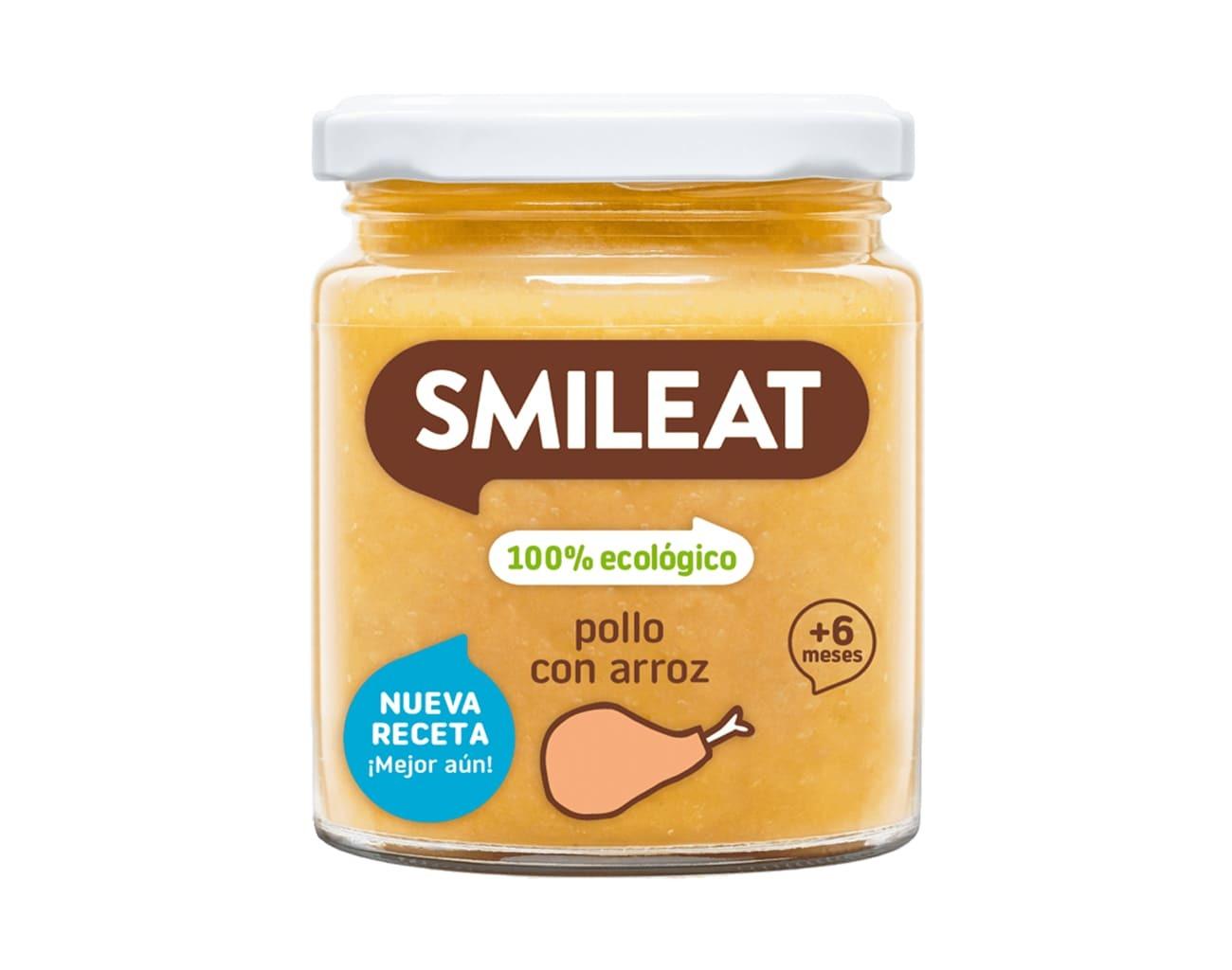 POTITO BIO POLLO CON ARROZ 230GR ( y 6MESES) SMILEAT en Biovegalia