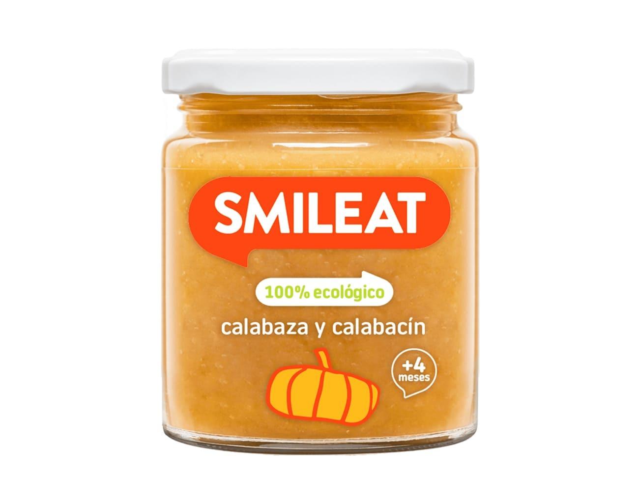 POTITO BIO CALABAZA CALABACIN 230GR ( y 4MESES) SMILEAT en Biovegalia