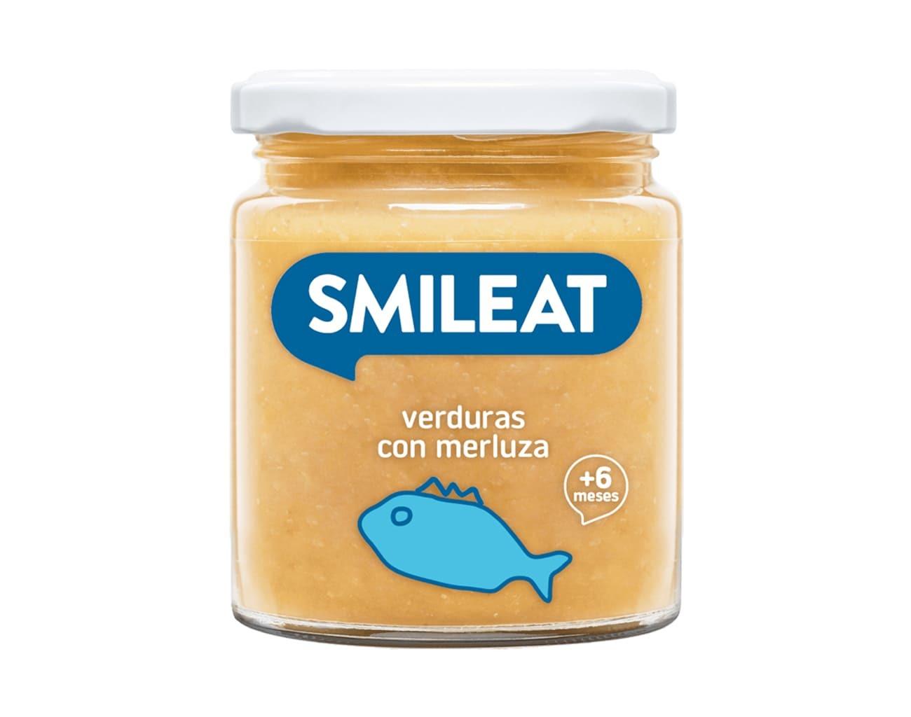 POTITO BIO VERDURAS Y MERLUZA 230GR ( y 8MESES) SMILEAT en Biovegalia