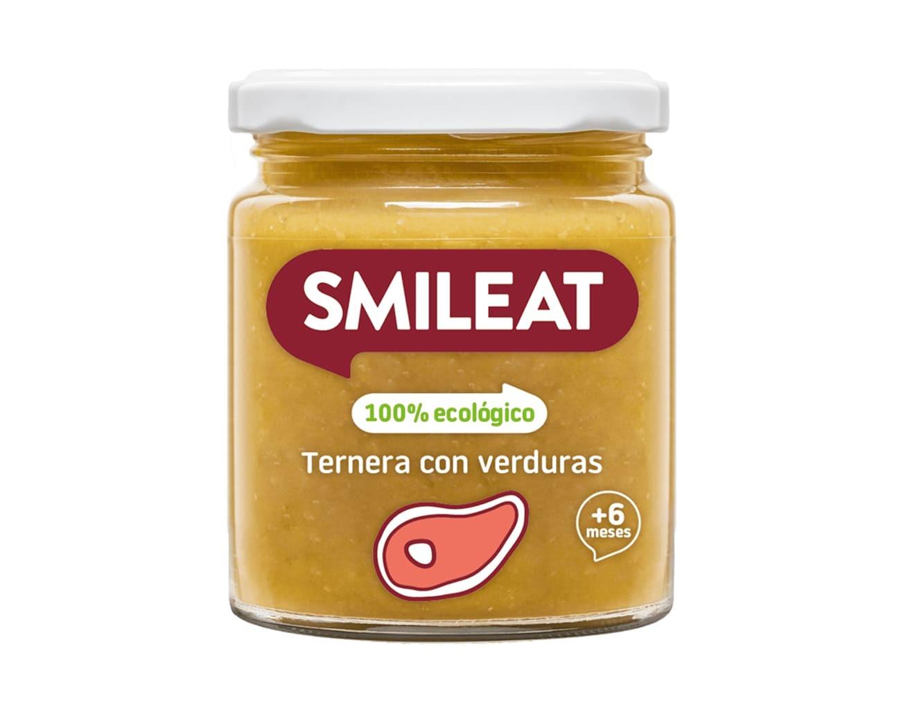 POTITO BIO TERNERA CON VERDURAS 230 G ( y 6MESES) SMILEAT en Biovegalia