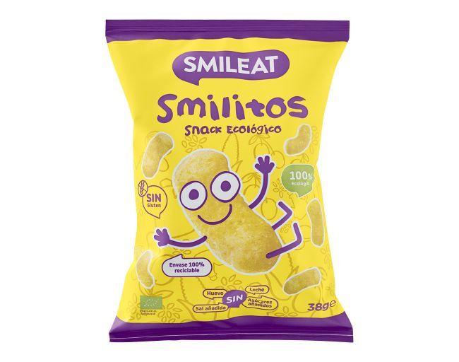 SMILITOS SNACKS DE MAIZ ECOLOGICOS SMILEAT en Biovegalia