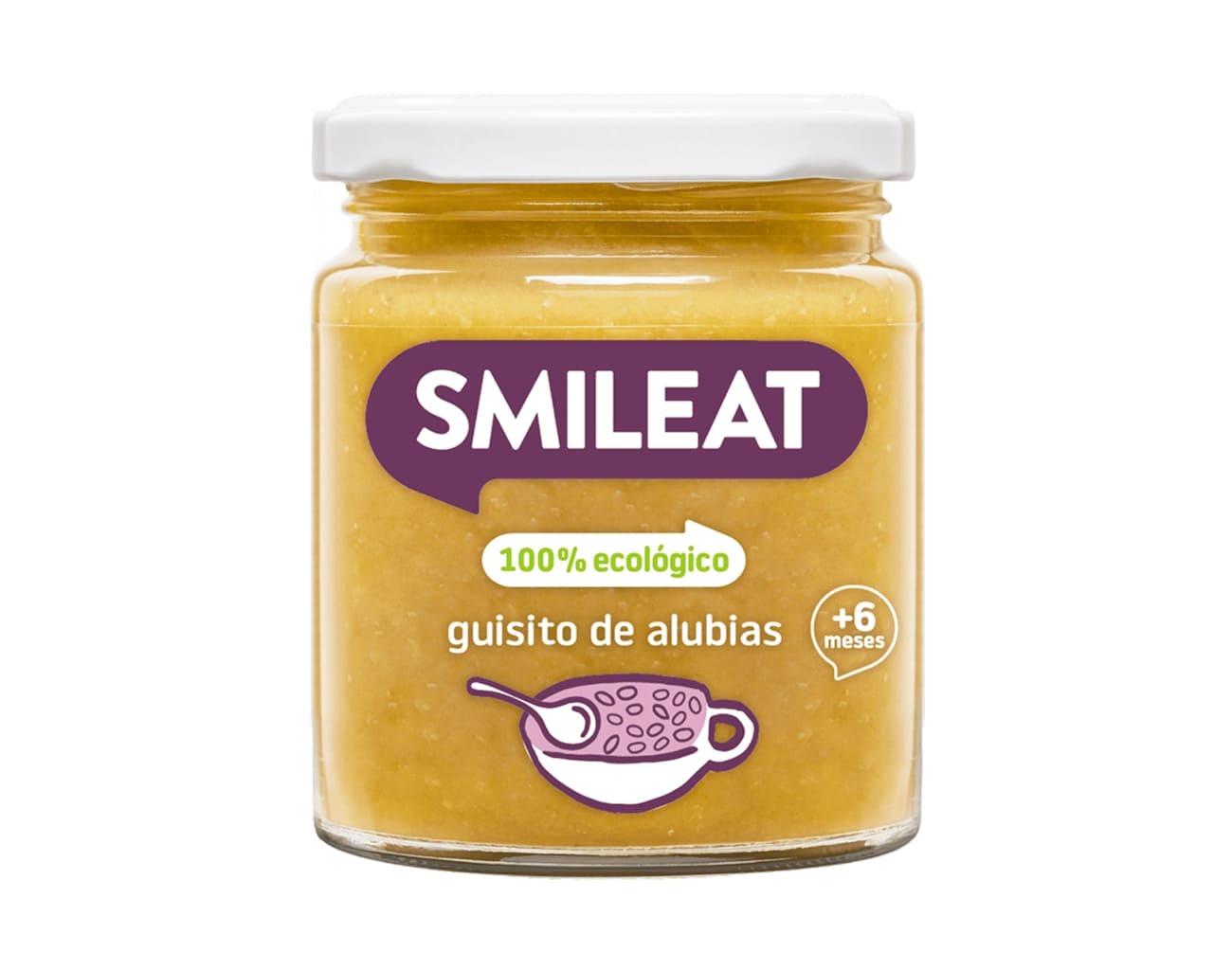 POTITO BIO GUISO DE ALUBIAS  230 G ( y 8MESES) SMILEAT en Biovegalia