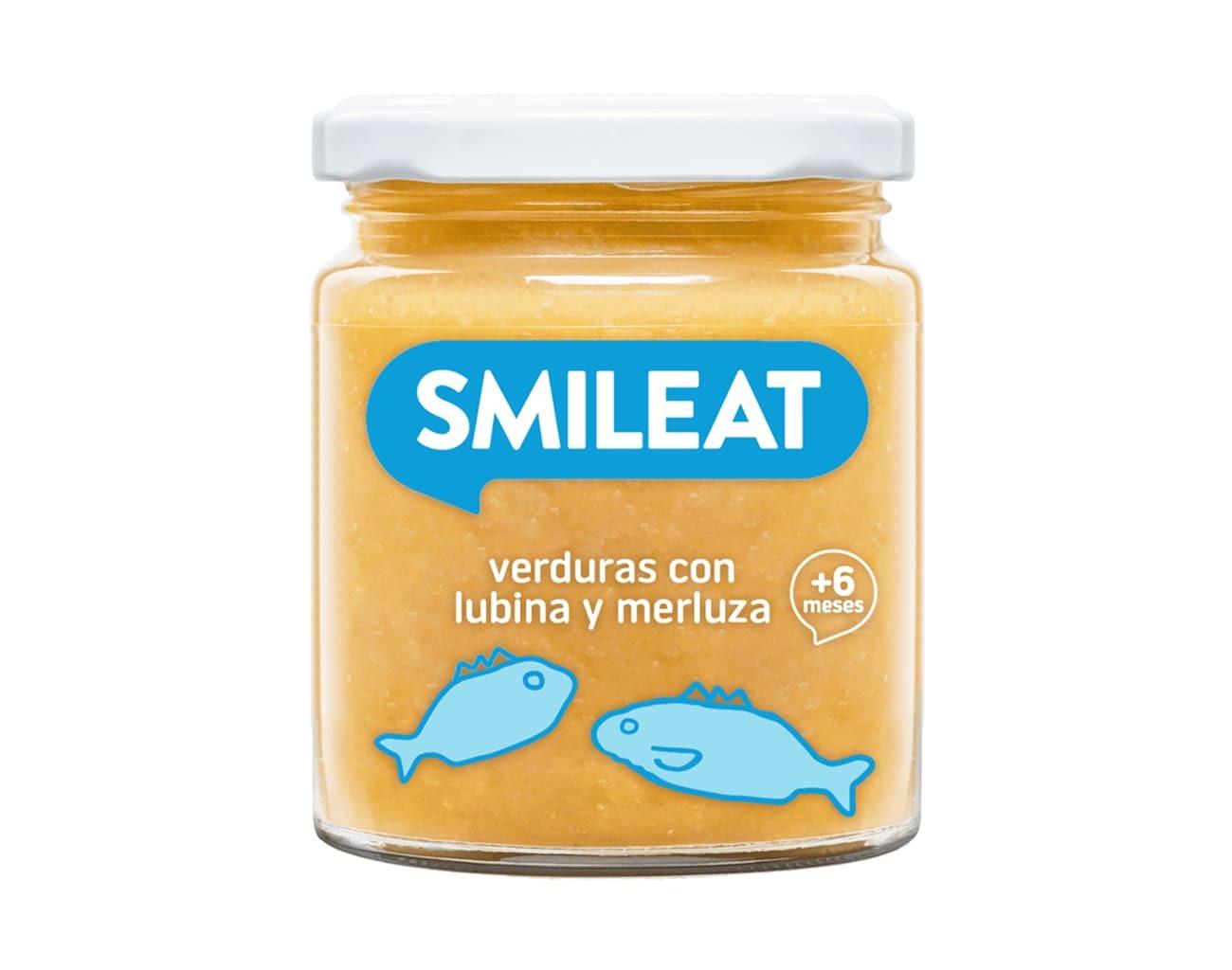 POTITO BIO VERDURAS LUBINA MERLUZA  230 G ( y 8MESES) SMILEAT en Biovegalia