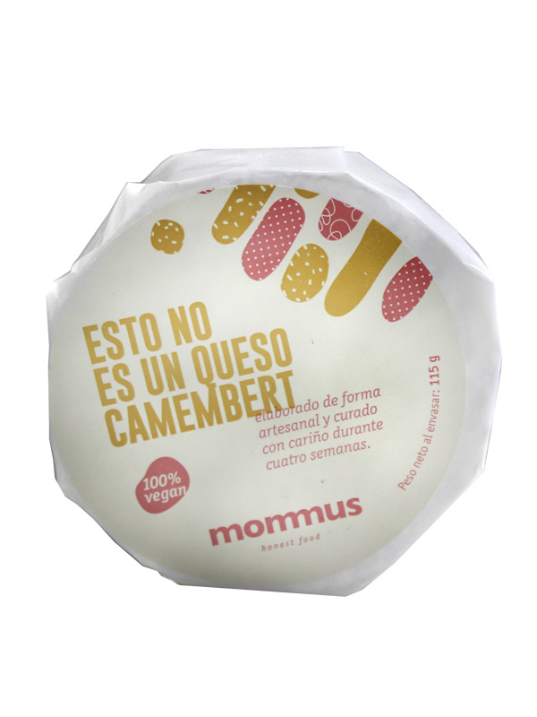 NO ES QUESO CAMEMBERT 115 g MOMMUS en Biovegalia